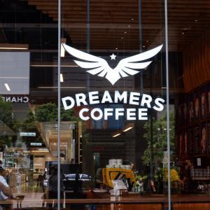台北 Dreamers Coffee Roastersで朝カフェ。