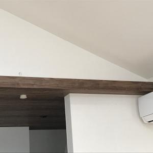 """二階リビングの2個目の""""サブ""""エアコンの使い道。「軽く除湿がしたい」時などに使えてよかった。"""