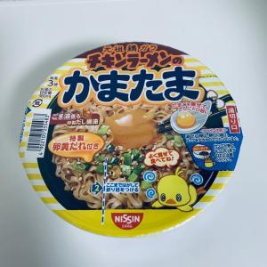 カップラーメンシリーズ #13 チキンラーメンのかまたま