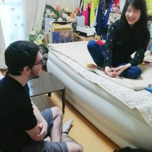 「英語」は娘を見捨てなかった…ようです ~ 同病のアメリカ人J君の訪問で1年7カ月ぶりに英語を話す