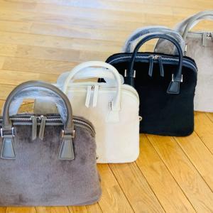 スペイン製 エストロ社 ムートン使用 ボリード風バッグ