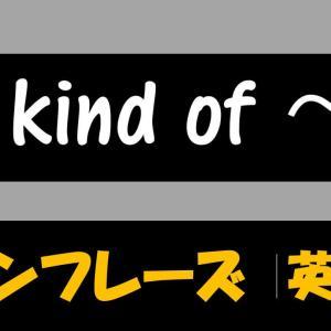 I'm kind of 意味や使い方 例文・フレーズ(18例)