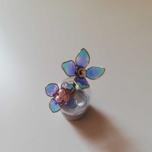 ディップフラワー 紫陽花✨