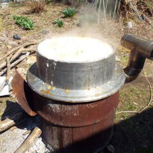 味噌作りだ・・(≧▽≦)