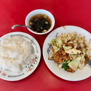 駅前の珍々亭で中華定食を食べる@駒込
