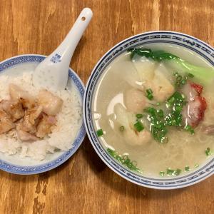 新記で食べる細くて縮れた香港麺@四谷三丁目