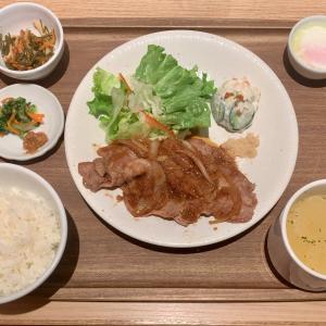 ねぎポの豚肉ランチを味わう@有楽町