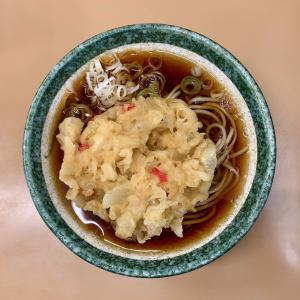 かしやまで朝からサクッとそばを食べる@田端
