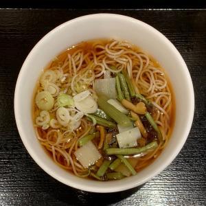 いろり庵きらくのアッサリした蕎麦を味わう@上野