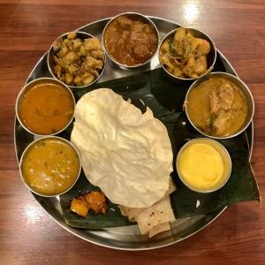 南インドの味をアーンドラ・キッチンで堪能@御徒町