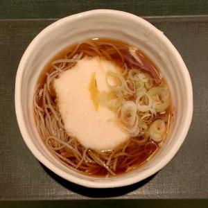 高級駅そばの蕎香でとろろそばを味わう@上野