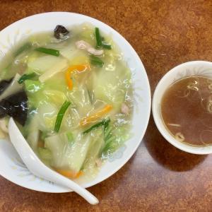 珍来の独特な中華丼を食べる@川口