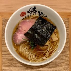 落ち着いた雰囲気の時雨で上品な中華蕎麦を味わう@関内