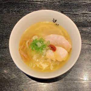 韋駄天の平打ち麺と美味スープのラーメンを味わう@新静岡