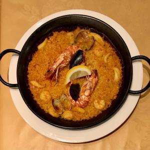 老舗のアルハムブラでスペイン料理を満喫する@西日暮里