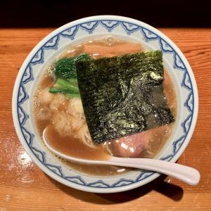 なるみやの魚介ダシが効いたラーメンを味わう@十条