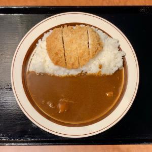 復活したクラウンエースでカツカレーを食べる@上野