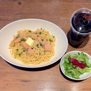 ホテルに隣接のプロントでパスタランチを食べる@田端