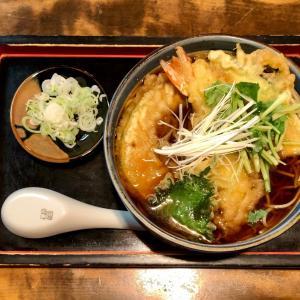 文士の愛した浅野屋で天ぷらそばを味わう@田端