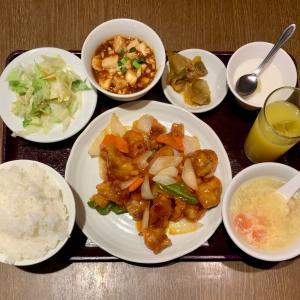 桃園で満足出来る中華定食を味わう@鶯谷