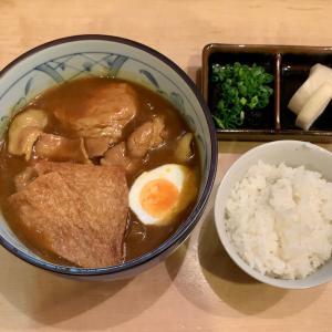 みずたで上質なカレーうどんを食べる@上野広小路