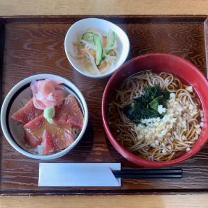 百干で美味しいまぐろ漬け丼を食べる@田端