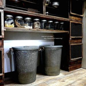 ニトリで念願のアンティーク風ゴミ箱