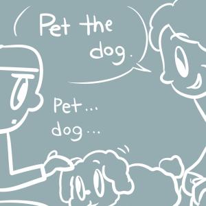 ABAのセラピー犬が誘拐された話