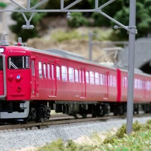 七尾線に521系で、415系茜色が、、、引退か?!