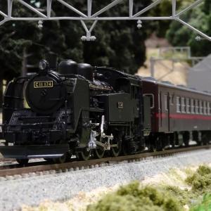 真岡鐵道 C11と50系客車(赤帯)