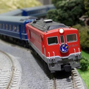 旅愁漂う赤いディーゼル機関車 DF50 寝台特急「紀伊」