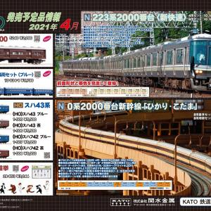 KATO 4月の新製品(2020.11.27発表)