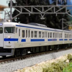 KATO 415系100番代(九州色) 入線