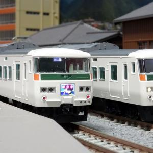 185系 特急「踊り子」新塗装・強化スカート 入線