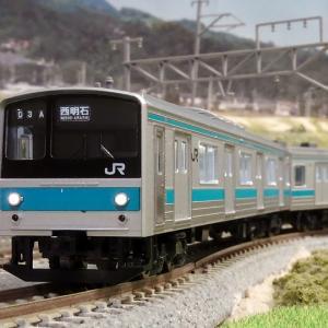 JR205系京阪神緩行線 室内灯を装備