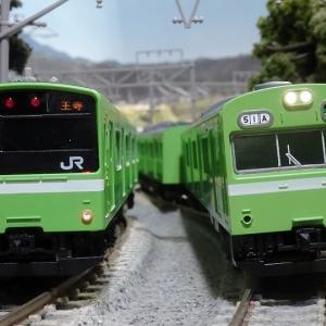 【新車入線】JR 103系 JR西日本仕様・混成編成・ウグイス