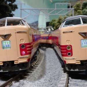 【新車入線】381系「パノラマしなの」(登場時) ー気になる前面形状を比較ー