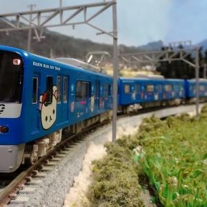 027F 京急600形「コリラックマ&チャイロイコグマがおがお号」