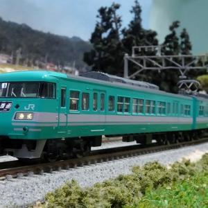 【新車入線】117系 和歌山色・混成編成(トレインボックス/TOMIX製)