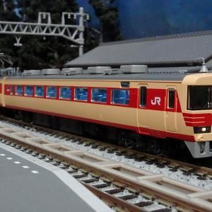 043F JR485系 特急「しらさぎ」ー国鉄色クモハを含んだ人気のセットー