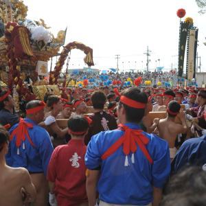 播州の秋祭り ー 灘の喧嘩祭宵宮(松原八幡神社) 大塩天満宮秋祭り