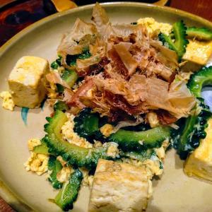 久々の沖縄料理。