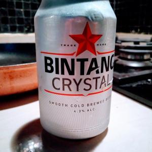 Bintang Crystalが思ったよりも美味しい。