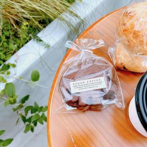 美味しい焼き菓子をテラスでいただく幸せ♪(SHOZO COFFEE STORE北青山)