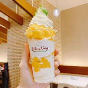 大好きよつ葉の白いパフェ♡1.5倍増し「フレッシュマンゴーVer.」はソラマチ7周年記念の贅沢品