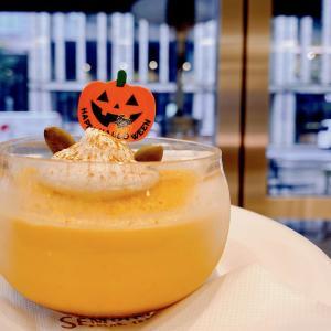 千疋屋総本店のおすすめ札♪10月限定「かぼちゃプリン」ハロウィーンのお化けかぼちゃ付き