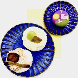 堂島ロールのとろけるクリームたっぷり「極み生大福〜栗&マスカット」で今年のお月見♪