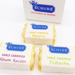 ECHIREバターが美味しいし、カワイイ!「サブレサンド」(エシレ・パティスリーオブール)