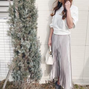 【fifth】春の新作トレンドのプリーツスカートで春コーデ