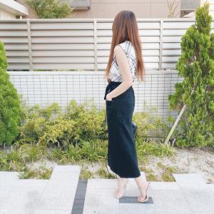 一目惚れ!!スタイル良く見えるGUスカート
